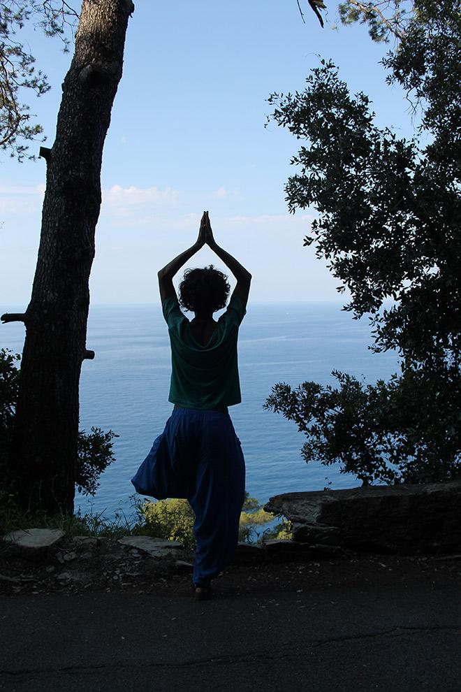 pacchetto vacanza weekend in LIGURIA con lezione di yoga